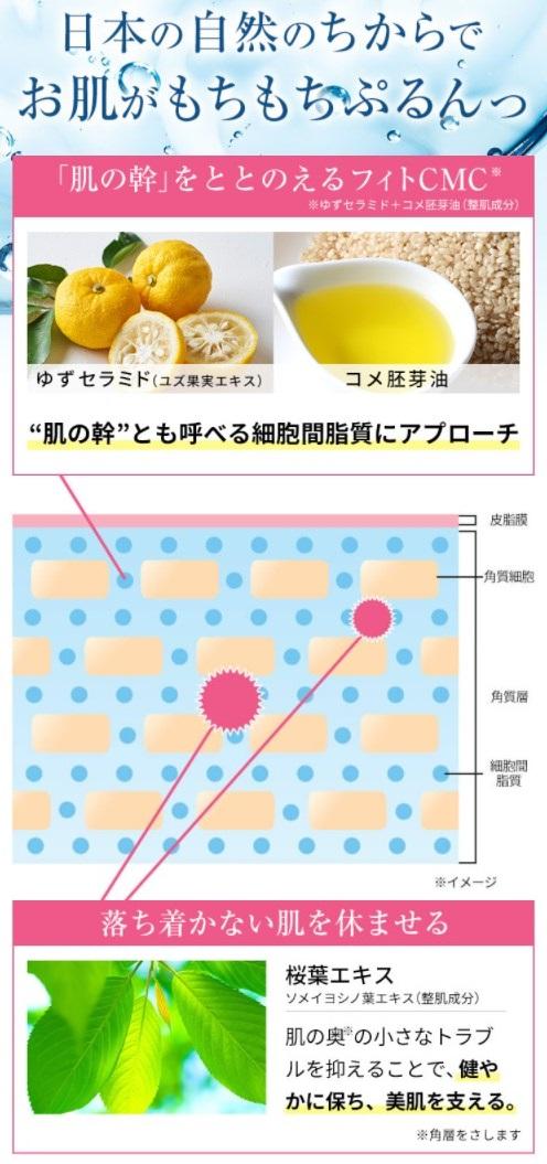 草花木果 多機能ジェルクリーム,特徴,効果