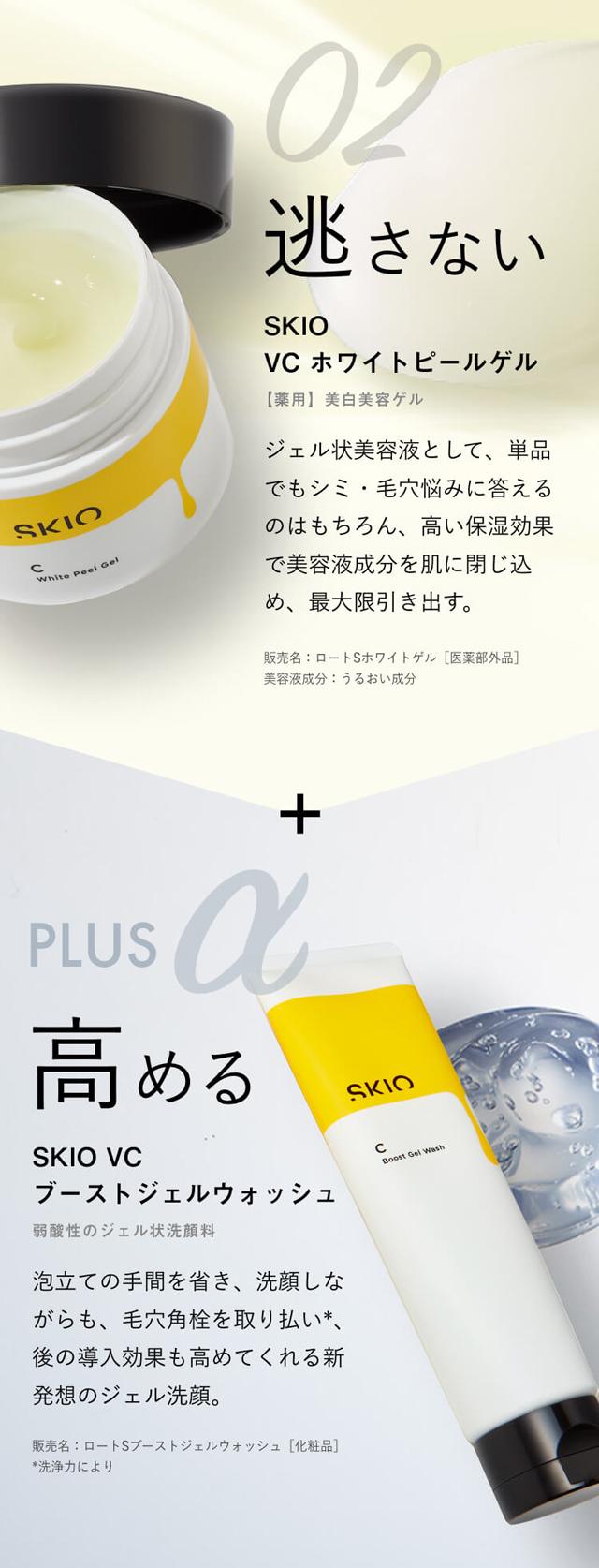 SKIO(スキオ),特徴,効果